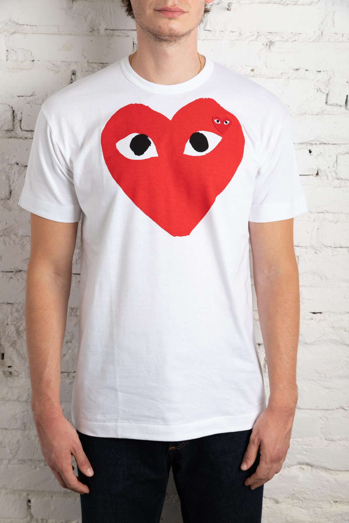 Play T-Shirt Red Heart P1T026